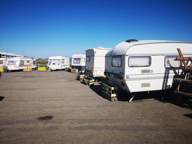 Campers have until Friday 16 July to remove their caravans and get off the site
