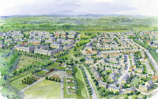 Application submitted for £275 million low carbon development, the Drumshoreland development, in West Lothian.