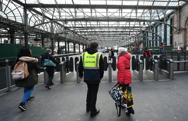 ScotRail ticket checks have been restricted to stations since March last year. Picture: John Devlin