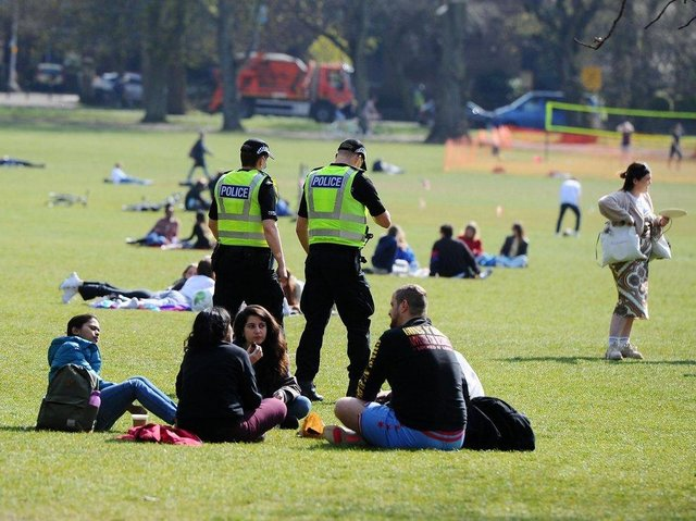 Police provided additional resources at the Meadows last month
