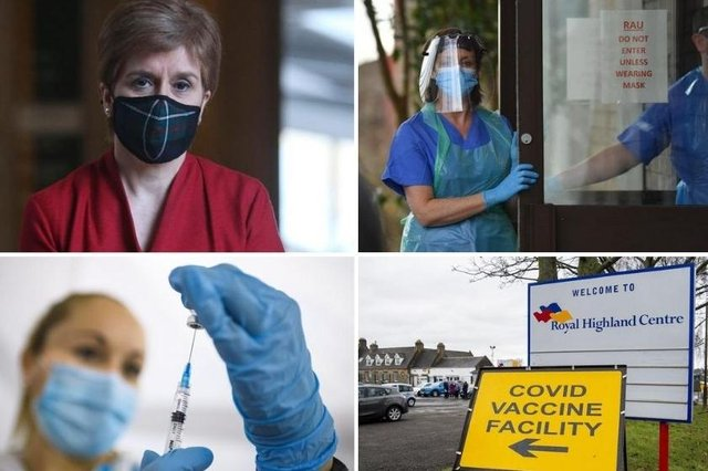 Here are the 48 key dates in Scotland's battle against coronavirus in pictures.