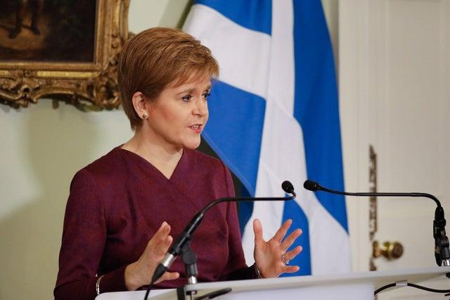 'I am not being unsympathetic' - Nicola Sturgeon says student self-isolation requirements 'no different' for others