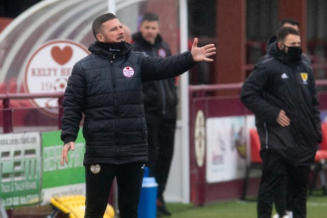 Barry Ferguson's Kelty Hearts were too strong for Brora Rangers.