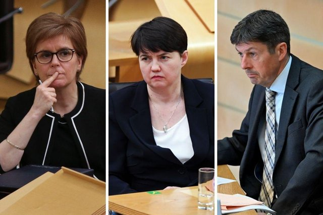 """Nicola Sturgeon has been warned to make fewer """"personal"""" comments in the Scottish Parliament, after she repeatedly referred to the fact that Ruth Davidson is due to take up a seat in the House of Lords during the final FMQs before the election."""