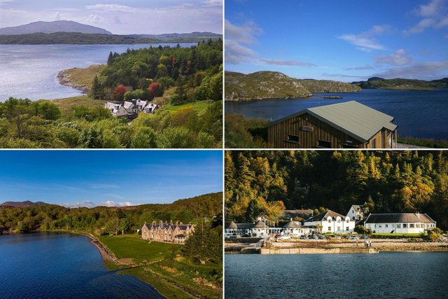 A few of the incredible wild swimming staycations available in Scotland.