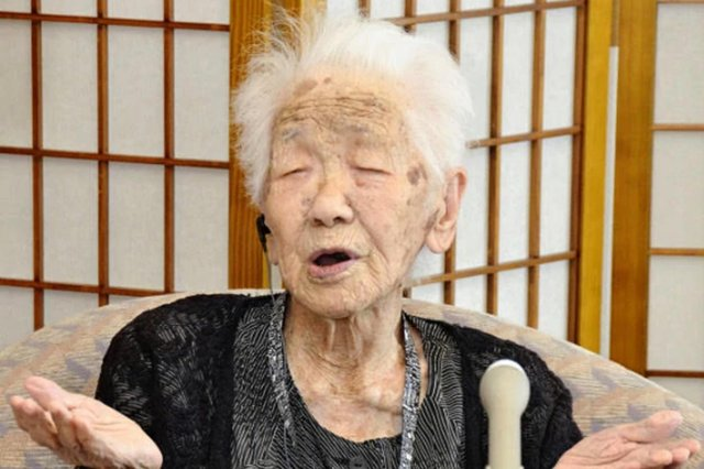 Kane Tanaka, from Japan, is the oldest person in the world at 118 and Susan Morrison is very much not (Picture: PA)