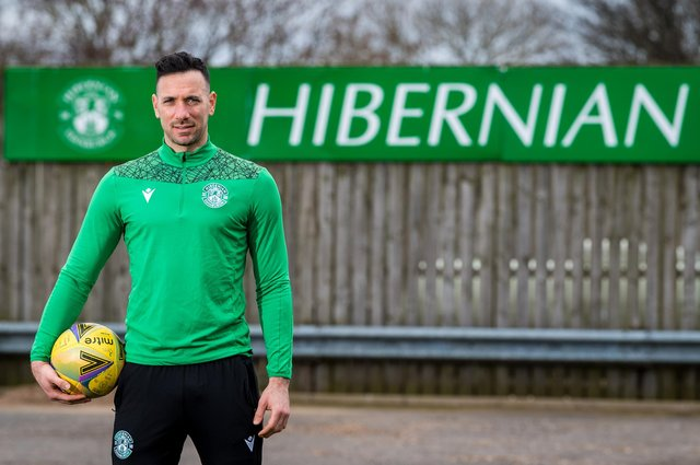 Goalkeeper Ofir Marciano will bring his five-year stay at Hibs to a close this summer but he wants to leave on a high. Photo by Ross Parker / SNS Group