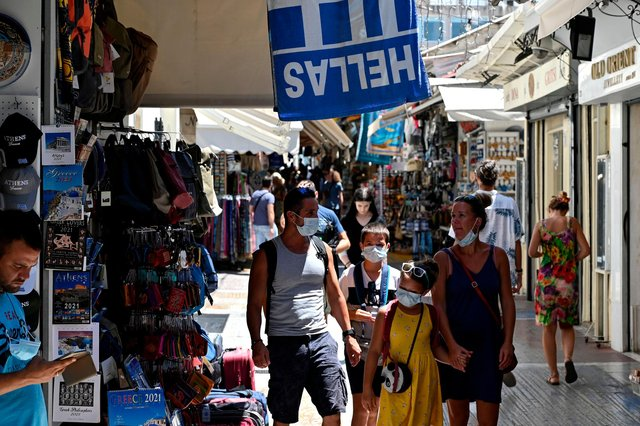 Everything you need to know as Greece reopens its doors to tourists (Photo: LOUISA GOULIAMAKI/AFP via Getty Images)
