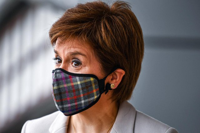 Nicola Sturgeon is expected to set out a timeline for lifting Covid restrictions in Scotland (Getty Images)
