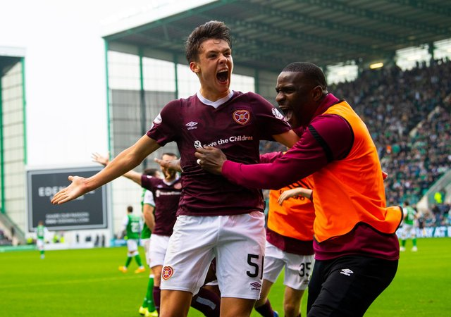 Former Hearts star Aaron Hickey has been attracting interest this summer. Picture: SNS