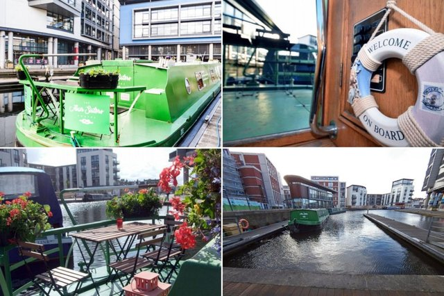 Ever fancied living on a houseboat? Here's your chance to try, without even leaving Edinburgh.