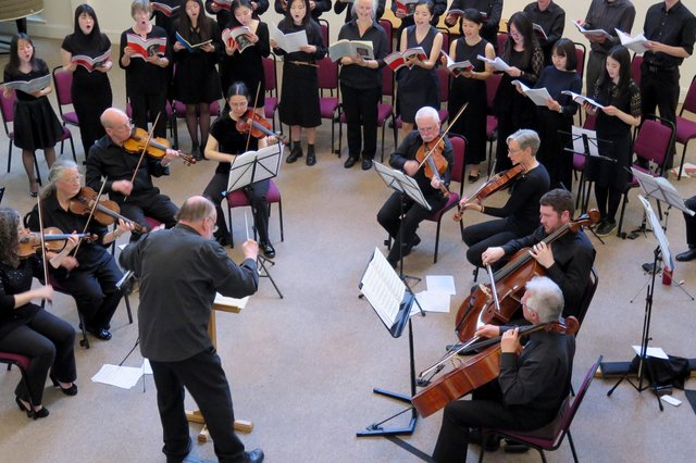 The Nightingale Choir, which is based in Edinburgh, also has members across the UK and in Europe as well as Japan, Myanmar, Taiwan, China and the USA.