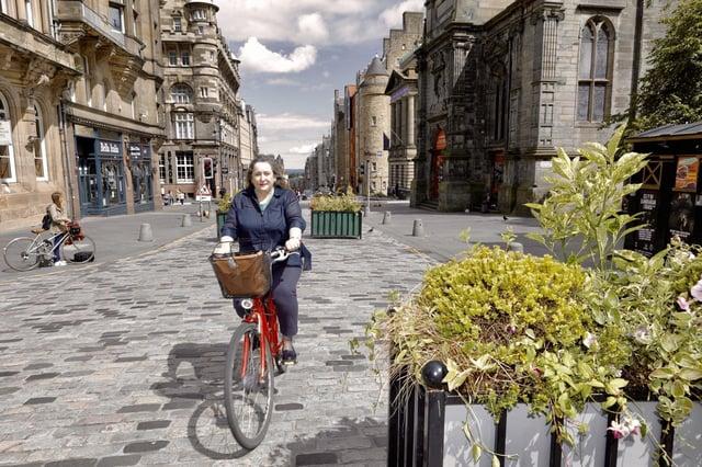 Transport and Environment Convener Councillor Lesley Macinnes