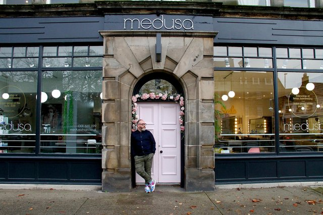 Colin McAndrew of Medusa Hair announced the launch of the #SalonSafety campaign