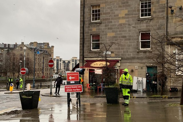 Guilt series 2: filming began in Edinburgh this week for the next series of the hit BBC drama