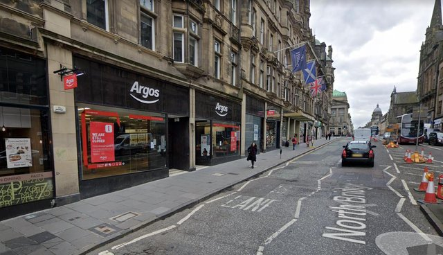 The Argos on North Bridge in Edinburgh will not be reopening after lockdown