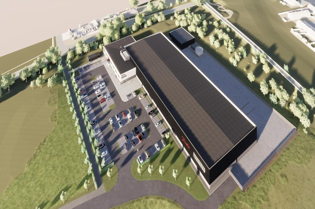 The facility at Shawfair Business Park has received planning permission from Midlothian Council and should be fully operational by the end of 2022. Image: Life Size Media