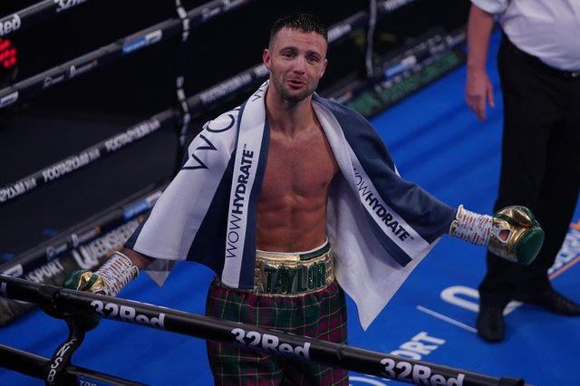 Josh Taylor is now the undisputed light-welterweight champion of the world