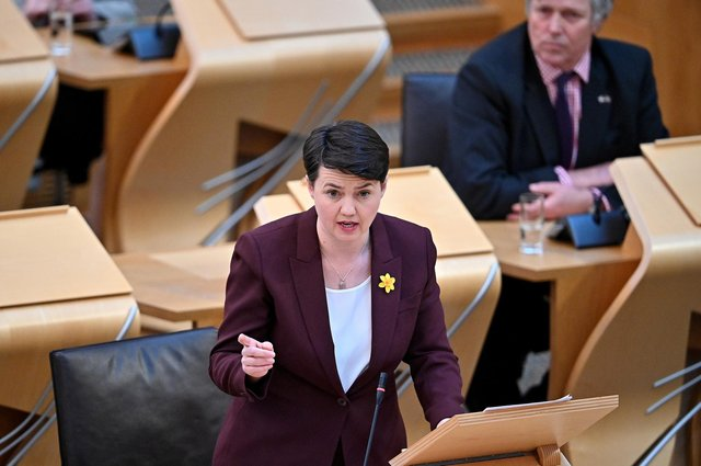 Leader of the Scottish Conservative Party Ruth Davidson raised concerns about women's safety in response to the routemap announcement