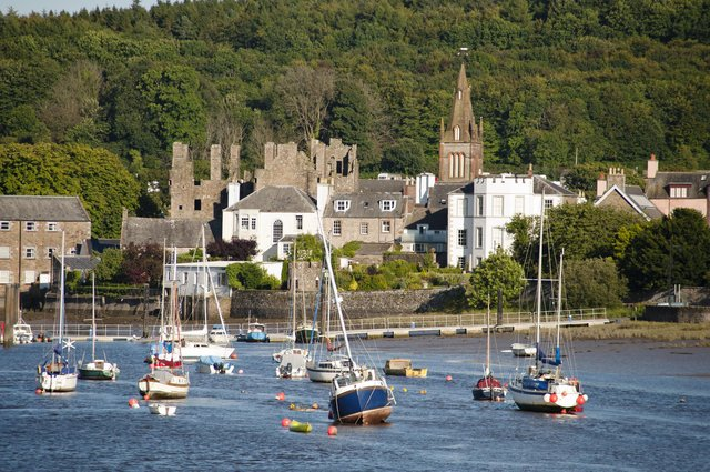 The Rookery, view of Kirkcudbright and harbour. Picture: Andreas von Einsiedel