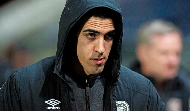 Former Hearts goalkeeper Joel Pereira. Picture: SNS