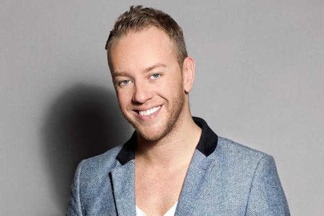Dancing in Ice star Daniel Whiston
