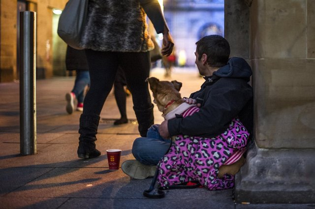 Homelessness is not a straightforward problem to fix and it will require everyone working together (Picture: John Devlin)