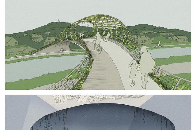 Concept design of the bridge.