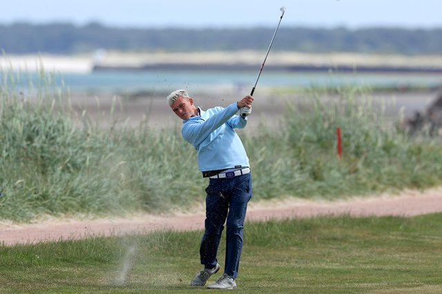 Connor Wilson during his match against Mark Power in the R&A Amateur Championship at Nairn. Picture: David Cannon/R&A/R&A via Getty Images.