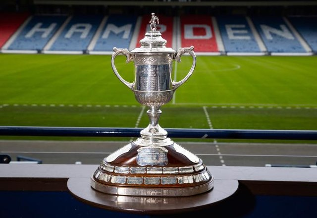 The Scottish Cup trophy is up for grabs next month (Photo by Alan Harvey / SNS Group)