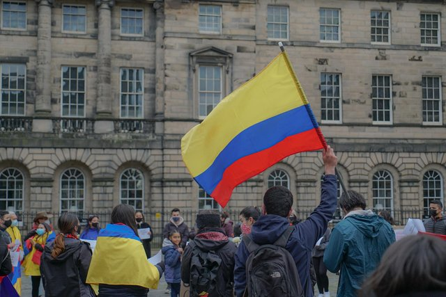 The Colombian government has come under severe pressure for their use of violence against protesters domestically.