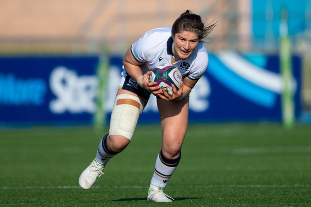 Helen Nelson will captain Scotland in the Women's Six Nations match against Wales. Picture: Ross MacDonald/SNS