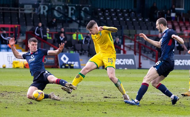 Kevin Nisbet was back aomngst the goals for Hibs - his first since January