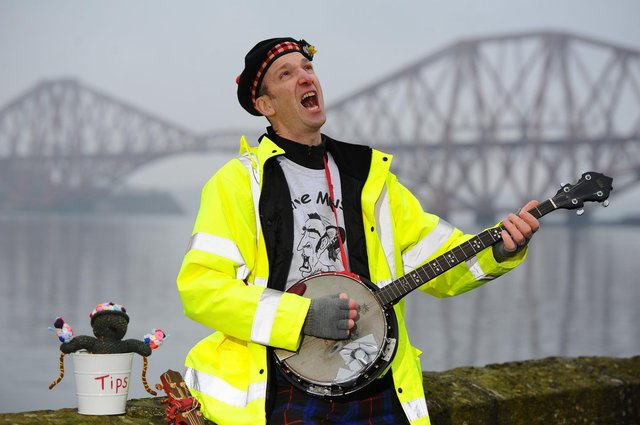 South Queensferry-based Graeme E Pearson will be one of the first musicians to perform at a pub in Edinburgh following the easing of restrictions on live entertainment. Picture: Michael Gillen