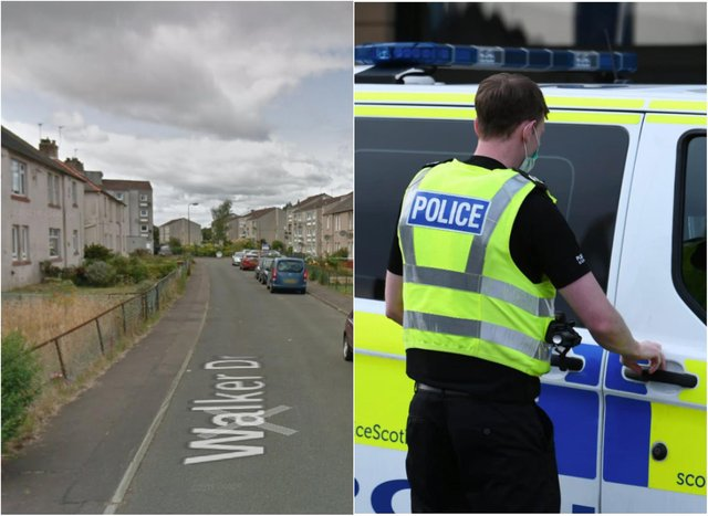 Walker Drive: Two men hospitalised then arrested after a disturbance on South Queensferry street