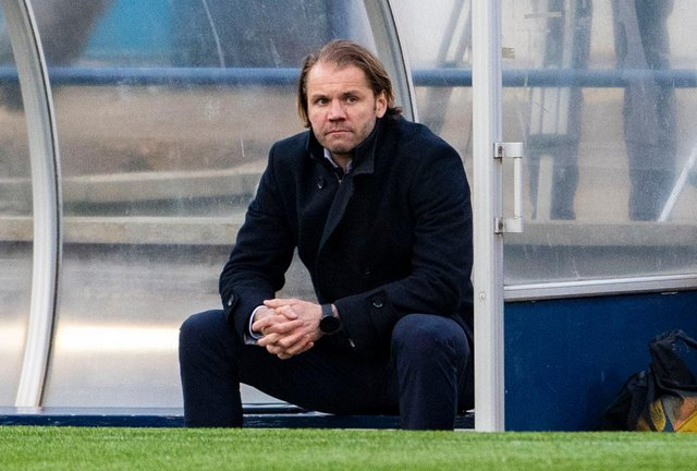 Hearts manager Robbie Neilson.