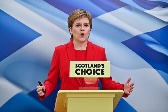 First Minister and leader of the Scottish National Party Nicola Sturgeon, said the economic analysis of an independent Scotland needs updating.