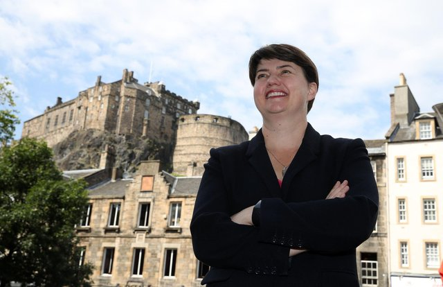 Ruth Davidson won a surprise victory in Edinburgh Central in 2016       Pic: Andrew Milligan/PA Wire