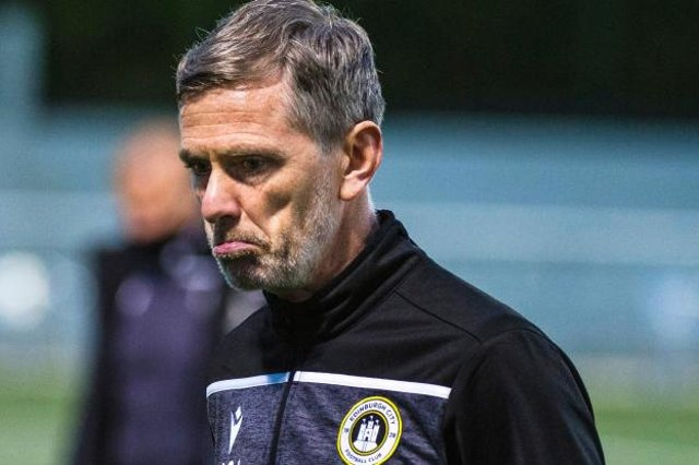 Edinburgh City manager Gary Naysmith was disappointed with his team's performance