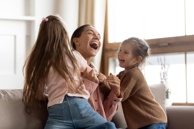 Talking about children's feelings is a good way to help them cope with lockdown, says Hayley Matthews (Picture: Getty Images/iStockphoto)