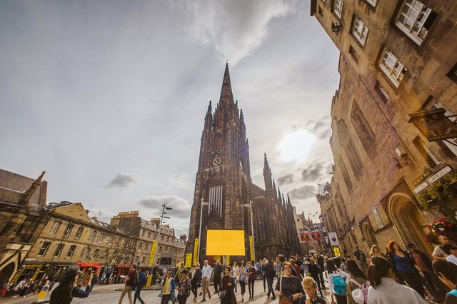 Edinburgh's Old Town is said to have the highest concentration of Airbnb listings in the UK. Picture: Mihaela Bodlovic.