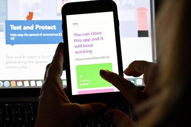 The Covid-19 track-and-trace app can be used to help curtail the spread of any outbreaks (Picture: Jeff J Mitchell/Getty Images)