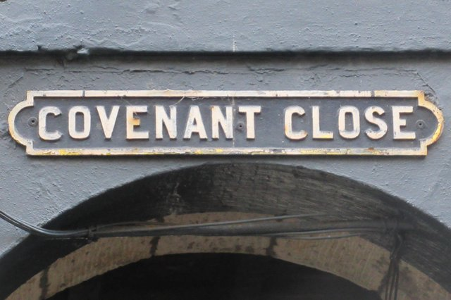Covenant Close, Edinburgh