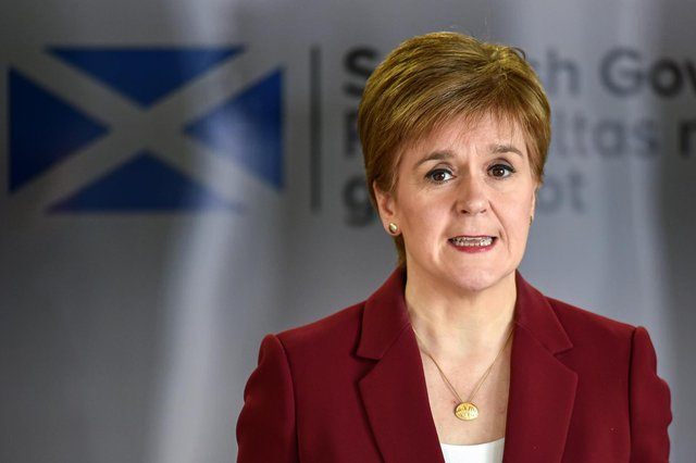 The First Minister unveiled in February how restrictions in Scotland will be gradually eased (Getty Images)