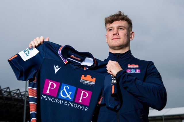 Darcy Graham has signed a contract extension with Edinburgh. Picture: Ross Parker/SNS