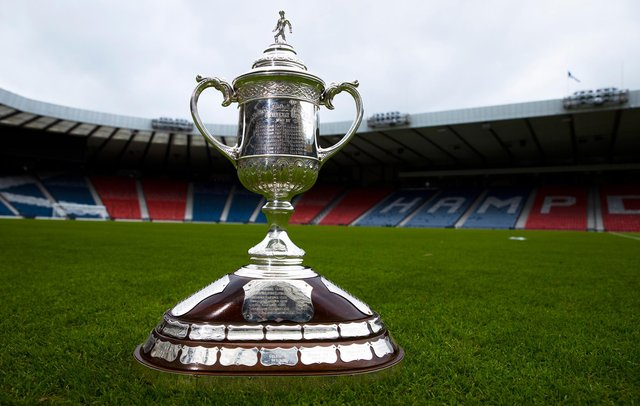 Hibs and St Johnstone will battle it out for the 2020/21 Scottish Cup at Hampden Park. Picture: SNS