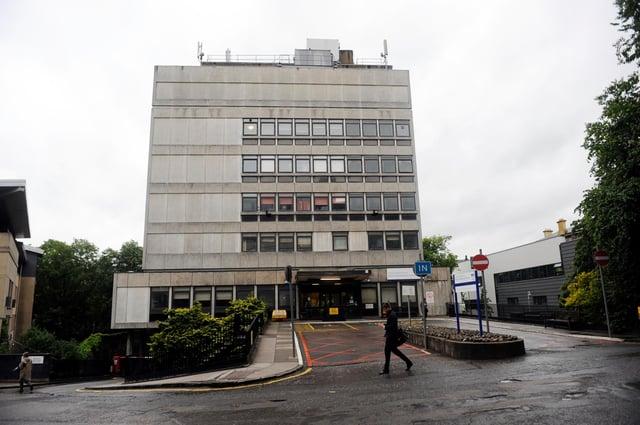 The NHS Princess Alexandra Eye Pavilion on Chalmers Street (Picture: Greg Macvean)