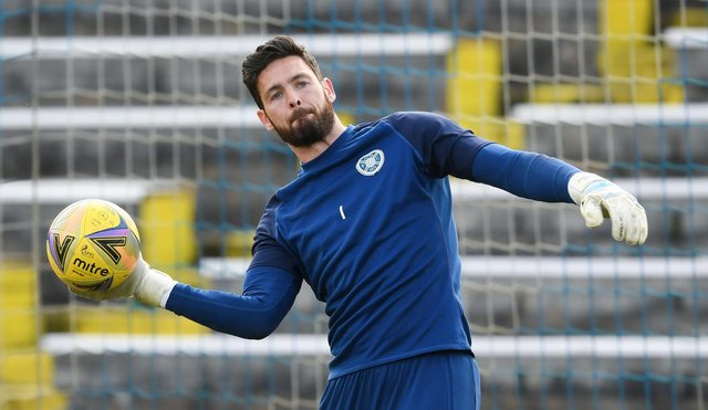 Craig Gordon plays following recent birth of his son. Picture: SNS
