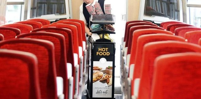 Rail Gourmet provides catering for LNER trains between Scotland and London