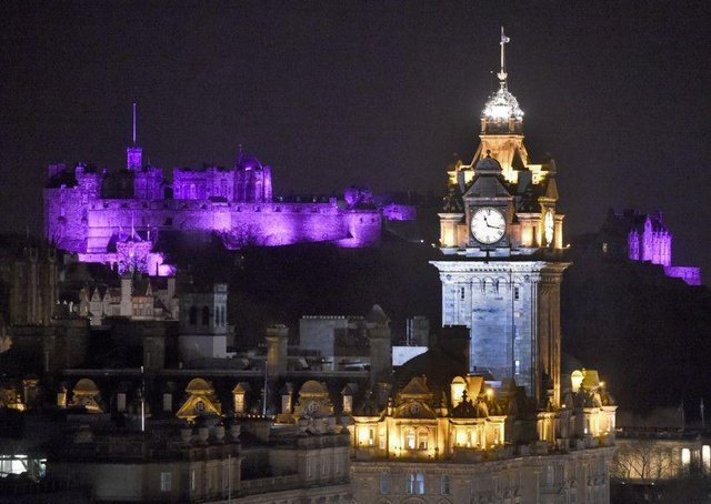 Edinburgh Castle will be lit up purple on Friday to raise awareness of epilepsy.